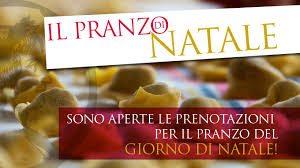 Pranzo di Natale 2016 nelle città di Legnano, San Vittore Olona, Milano,